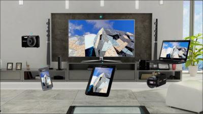 Телевизор и персональные гаджеты с Wi-Fi