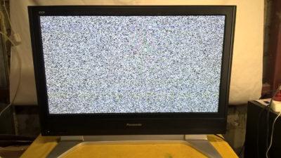 Телевізор з білим шумом