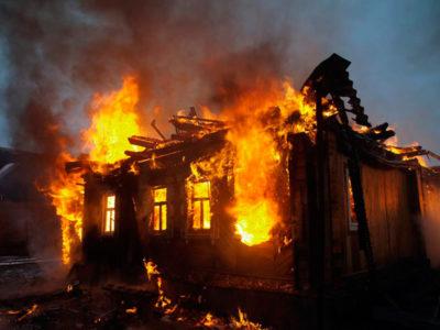 Пожежа через несправність обігрівача