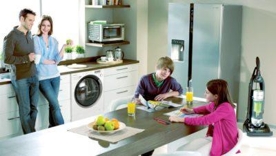 Родина на кухні