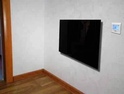 Настенный стеклянный инфракрасный обогреватель