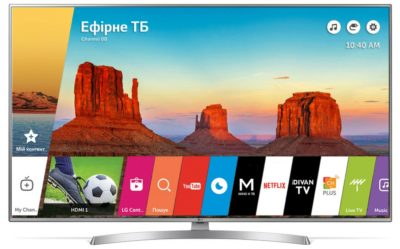 Телевізор LG 43UK6510PLB