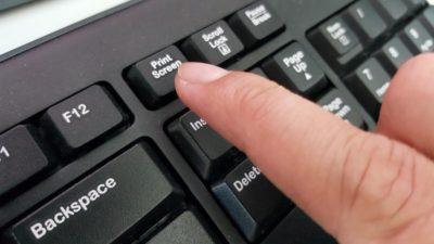 Кнопка Print Screen на клавіатурі