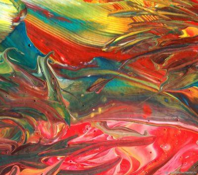 Картина в абстрактном стиле