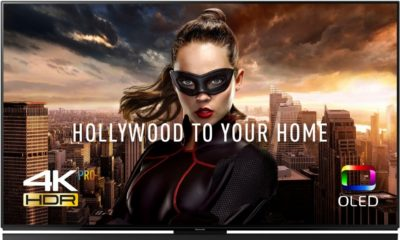 Телевізор з написом «Hollywood to your home»