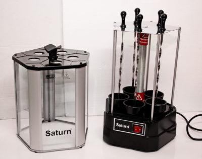 Електрошашличниця Сатурн