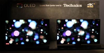 Два OLED телевізора