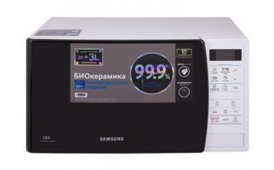 Мікрохвильова піч Samsung ME83KRW-1/BW