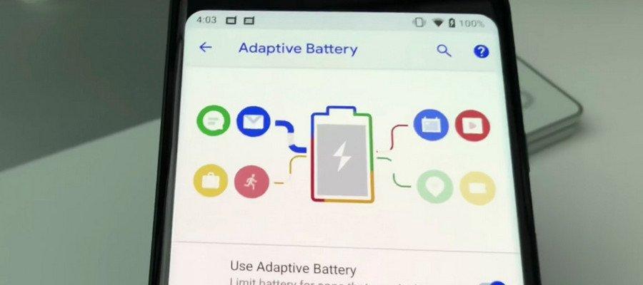 9 фишек нового Android 9 pie - адаптивная батарея
