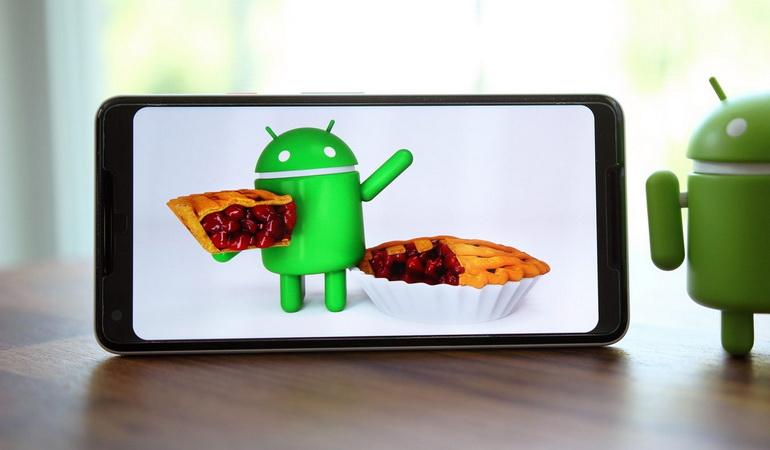 9 фишек нового Android 9 pie - андроид с пирогом