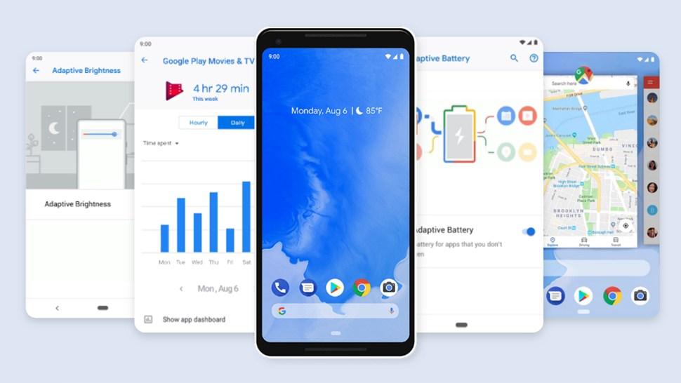 9 фишек нового Android 9 pie - новые функции в андроид