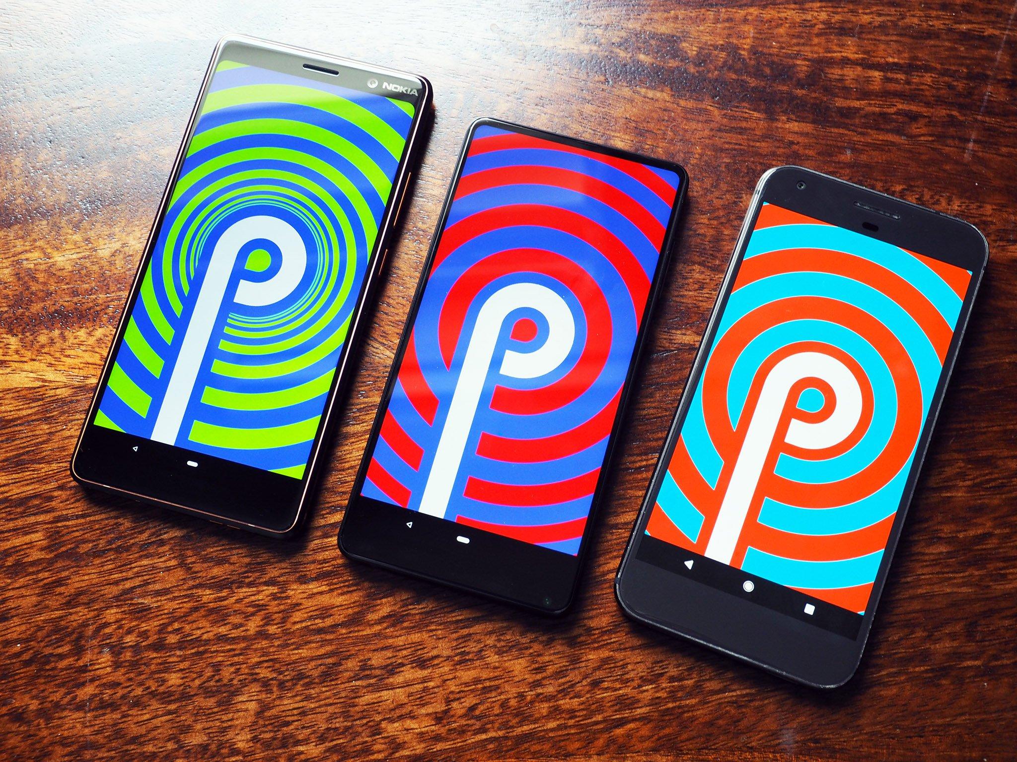 9 фишек нового Android 9 pie - три смартфона на андроид 9