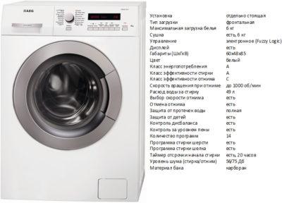 AEG AMS7000U (пральна машина AEG AMS7000U)