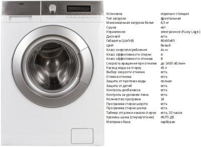 AEG L58547SL (пральна машина AEG L58547SL)
