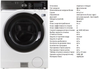 AEG L9WBC61B (стиральная машина AEG L9WBC61B)