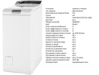AEG LTX7CR562 (стиральная машина AEG LTX7CR562)