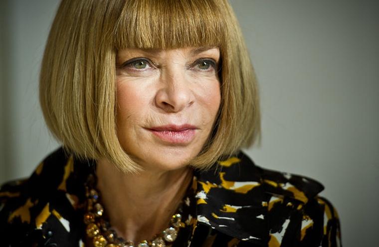 Анна Винтур-портрет