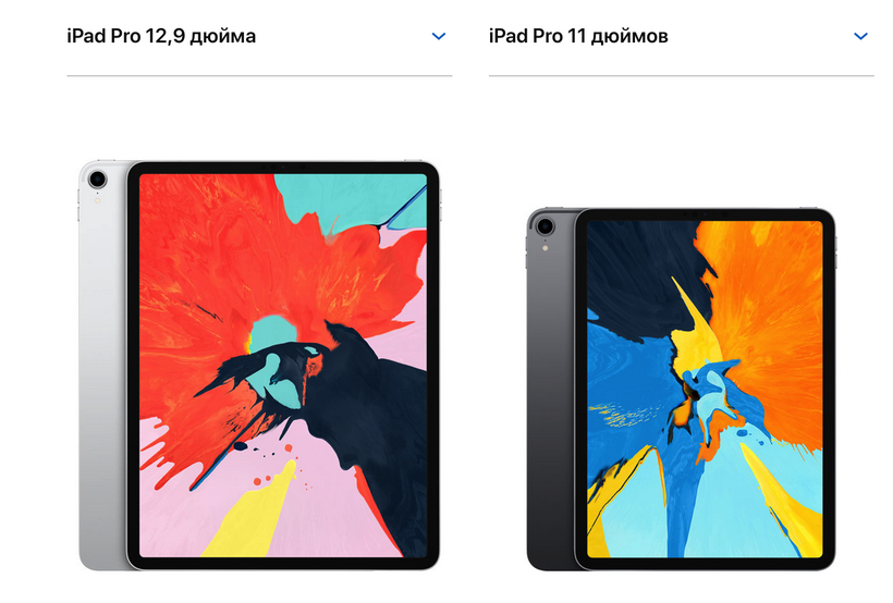 Apple iPad Pro-диагональ экрана планшетов