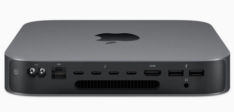 Apple-новый Mac Mini интерфейсы