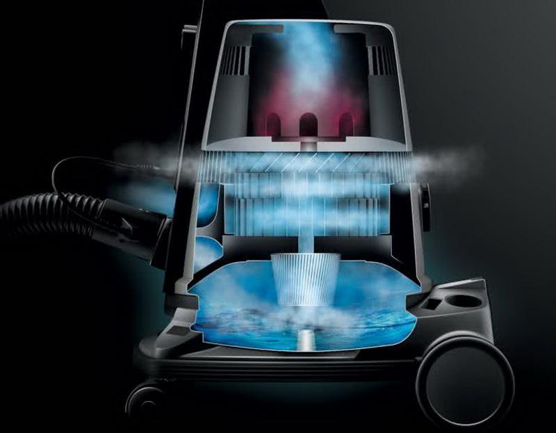 BORK V601-насыщение воздуха влагой