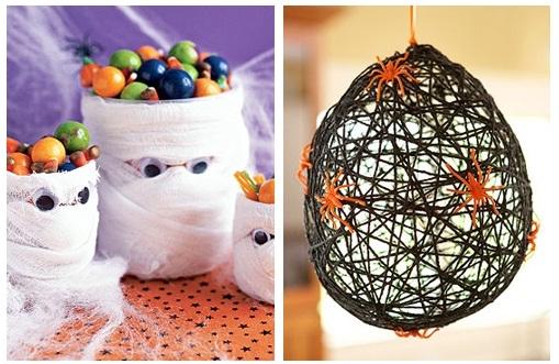 Банка-мумия для конфет-сладкий стол
