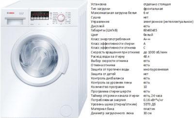 Bosch WAB 20262BY (пральна машина Bosch WAB 20262BY)