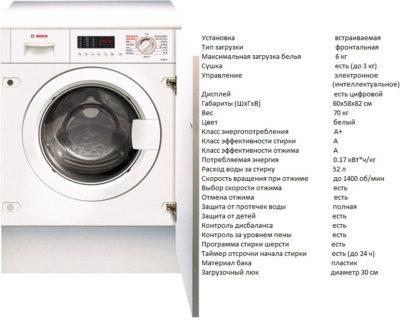 Bosch WKD 28540 (пральна машина Bosch WKD 28540)