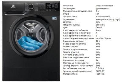 Electrolux EW6S4R27BX (пральна машина Electrolux EW6S4R27BX)