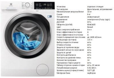 Electrolux EW7WR361S (пральна машина Electrolux EW7WR361S)