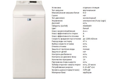 Electrolux EWT1264ILW (стиральная машина Electrolux EWT1264ILW