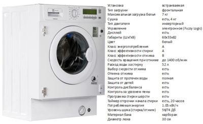Electrolux EWX147410W (стиральная машина Electrolux EWX147410W)