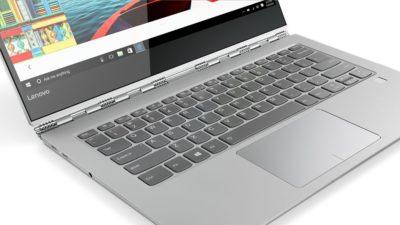 Зображено клавіатуру ноутбука