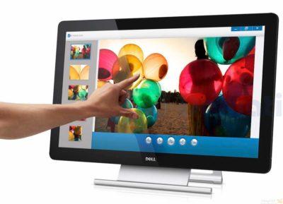 Налаштування сенсорного монітора Dell