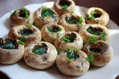 Рецепт грибів для пароварки