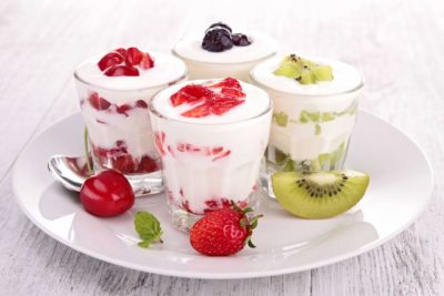 Вкусный десерт из йогуртницы