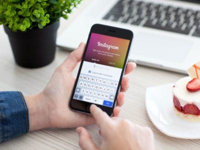 Реєстрація в Instagram - введення даних