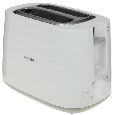 Тостер Philips HD2581/00 с решёткой для подогрева