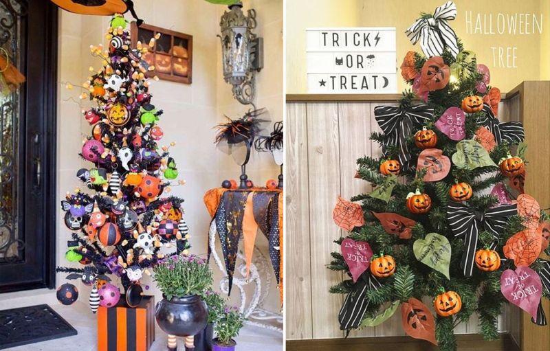 Halloween Decorations-деревья
