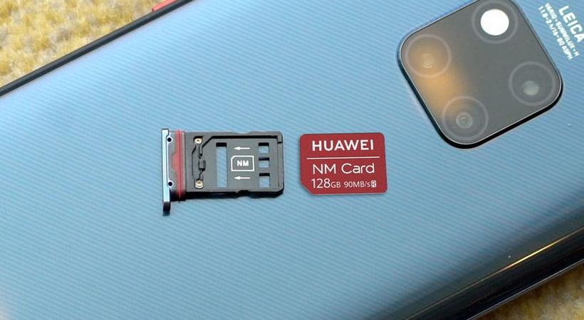 Huawei Mate 20 Pro-Nano Memory Card