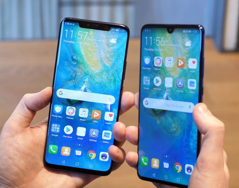 Huawei-новинки экраны