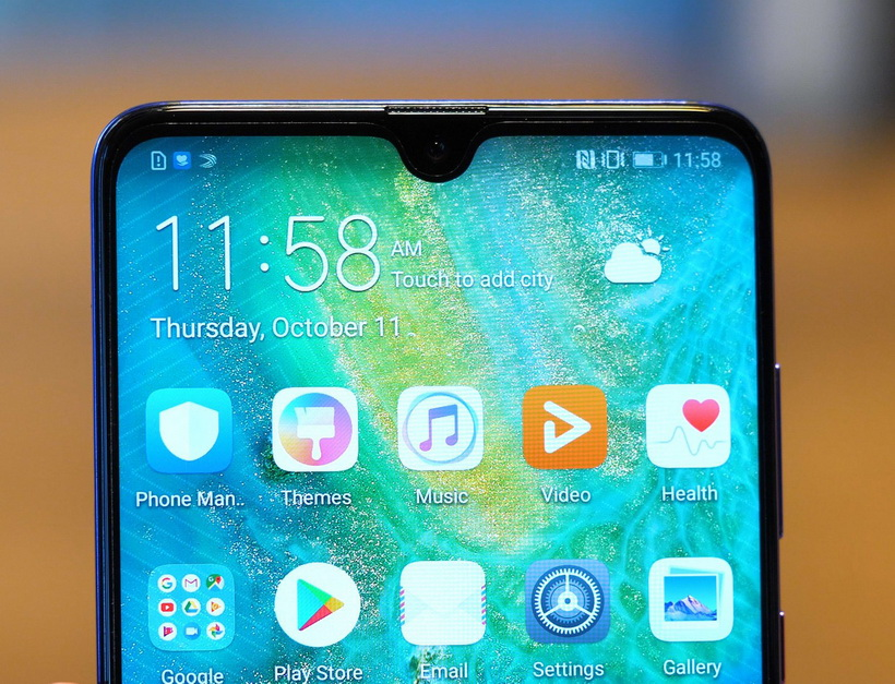 Huawei-новинки интерфейс