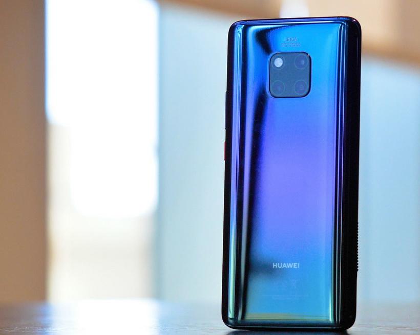 Huawei-новинки цветовое оформление смартфона