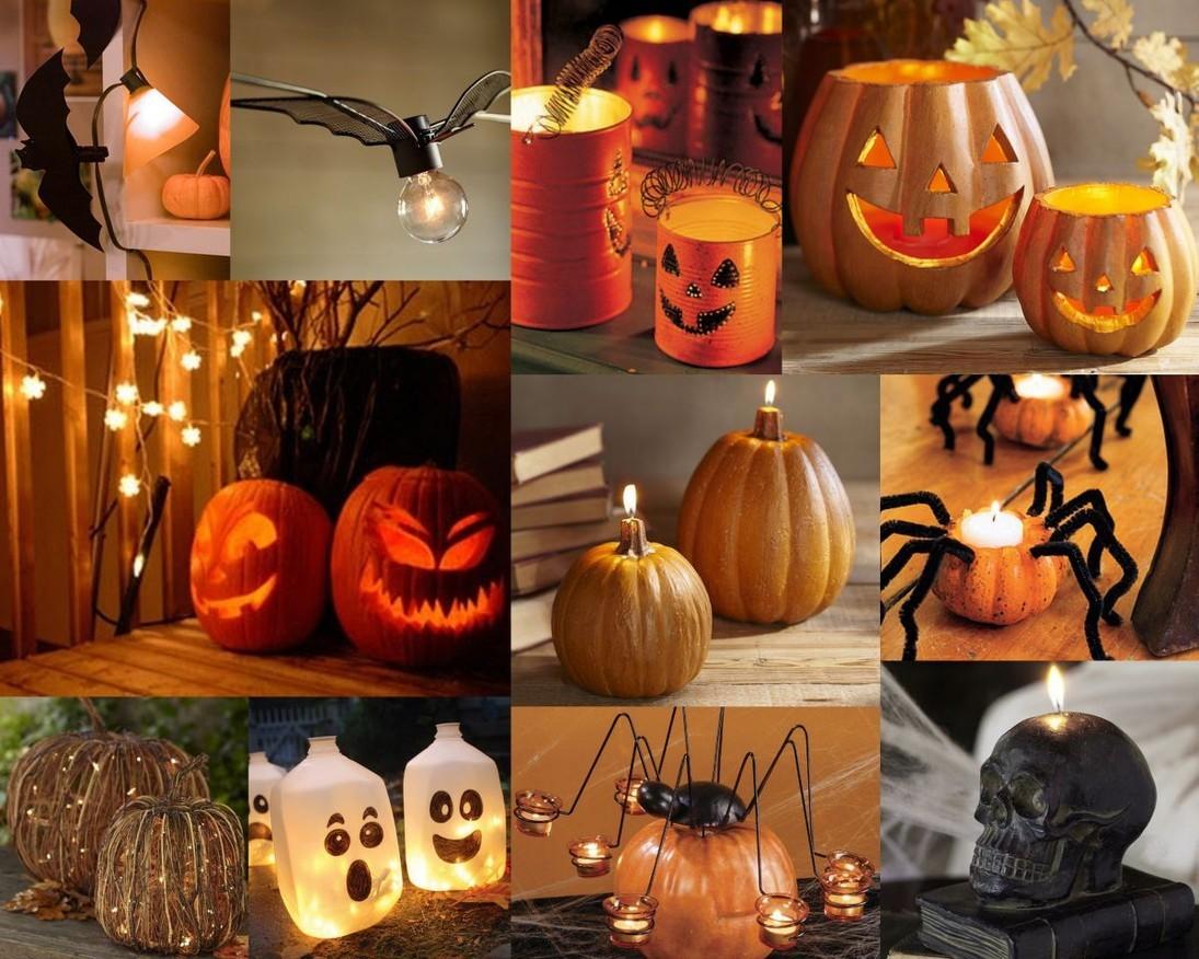 Интерьер на Хэллоуин