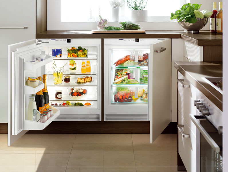 Лучшие морозильные камеры для хранения замороженных фруктов - морозильная камера под столешницей