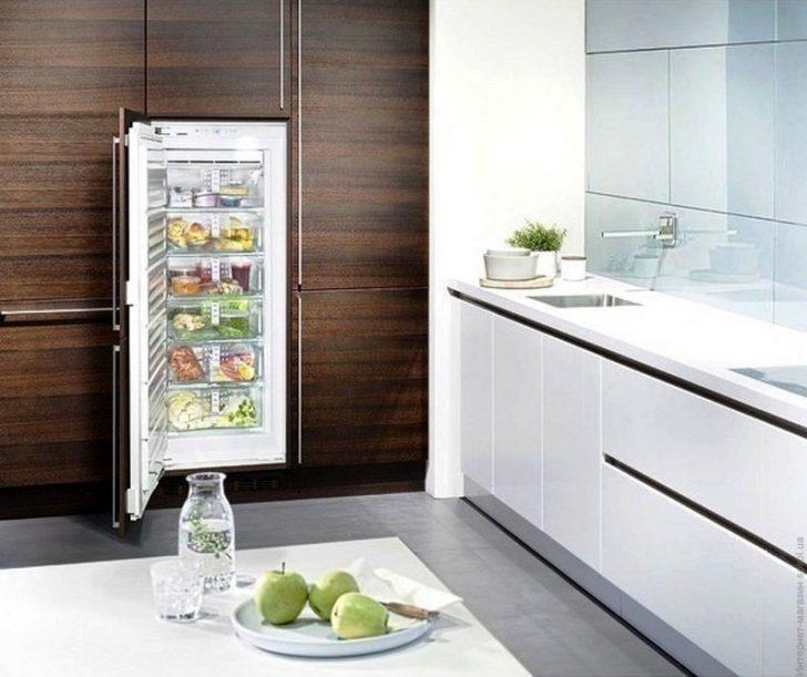 Лучшие морозильные камеры для хранения замороженных фруктов - встроенная морозильная камера