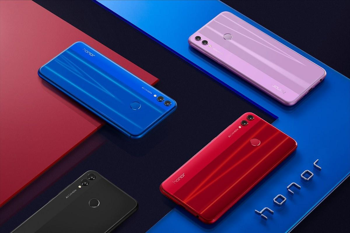 Обзор Honor 8X - четыре цвета нового смартфона