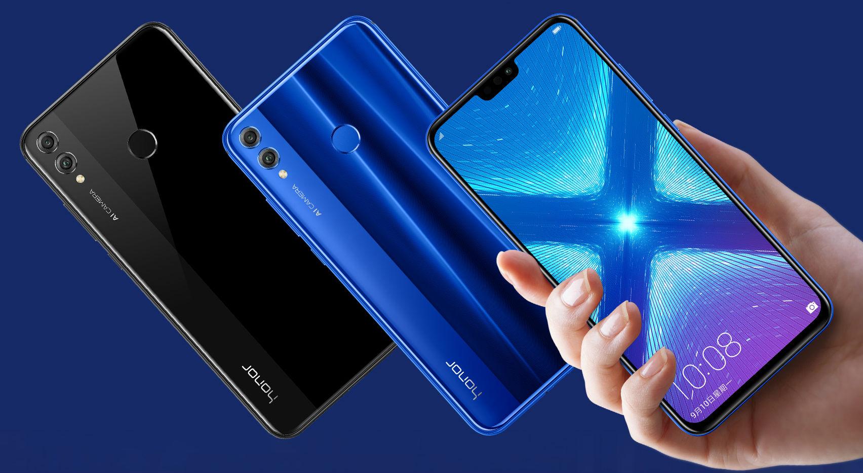 Обзор Honor 8X - дисплей нового смартфона