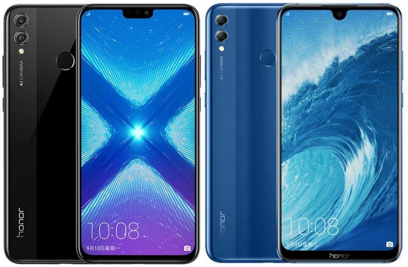Обзор Honor 8X - смартфон в двух цветах