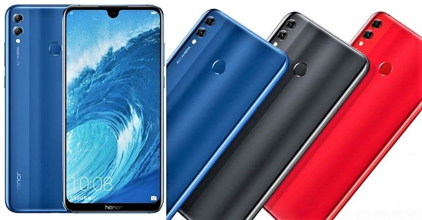Обзор Honor 8X - смартфон в разных цветах