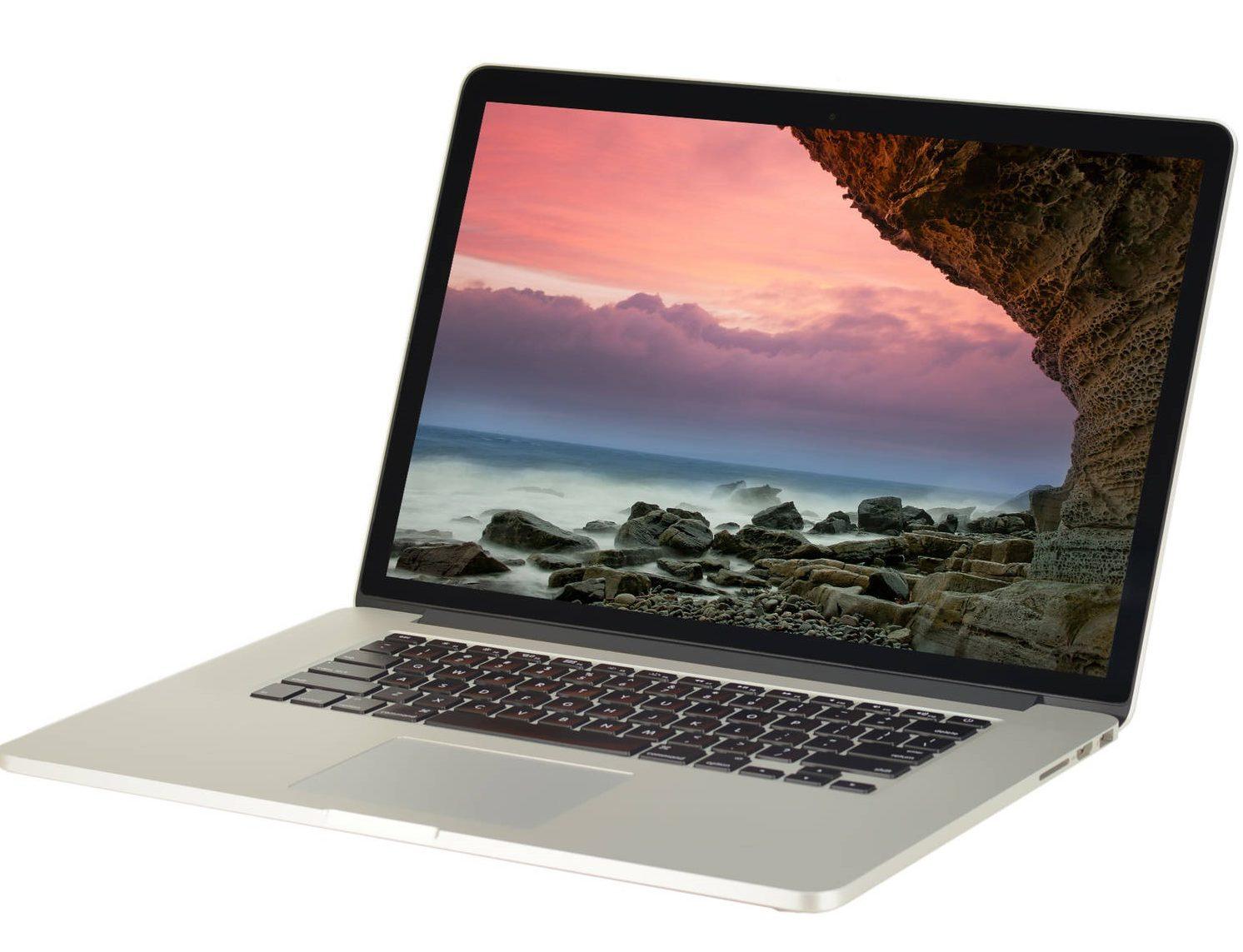 Офис, игры, сложные программы обзор ноутбуков, которые потянут все - MacBook Pro 15,4